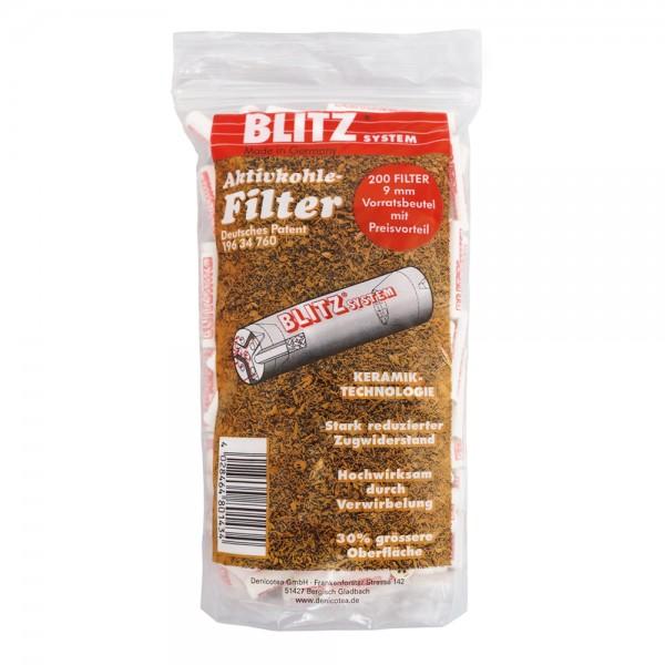 Pfeifenfilter 9mm Aktivkohle