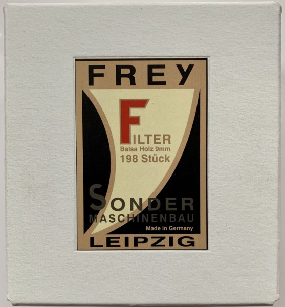 Pfeifenfilter 9mm Balsaholz